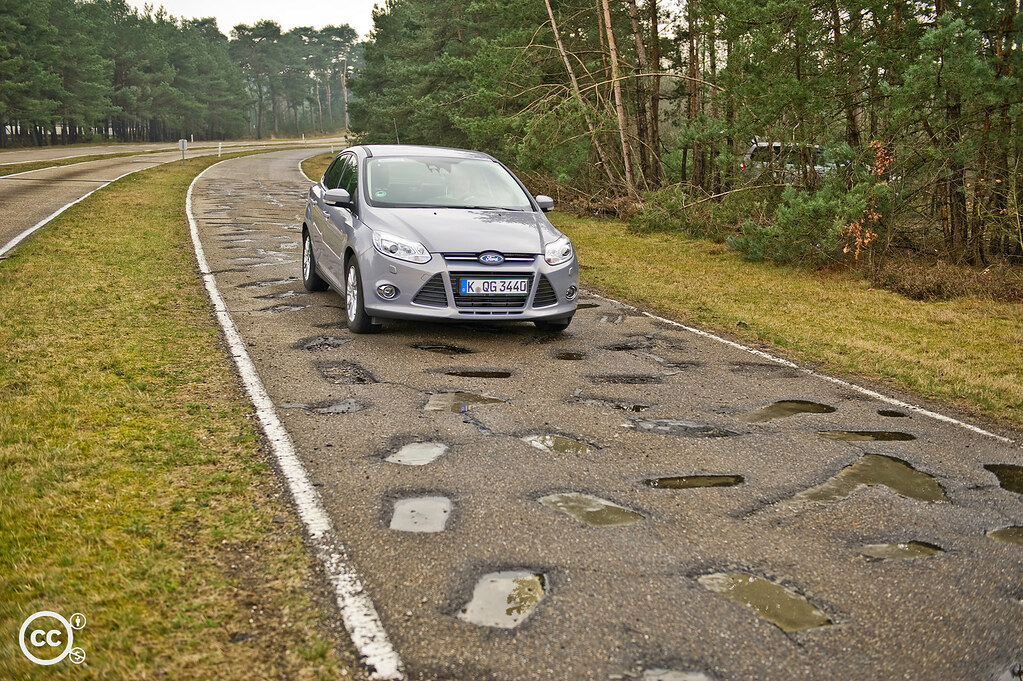 Ford S Extreme Road Testing Helps Cars Conquer Potholed Ro
