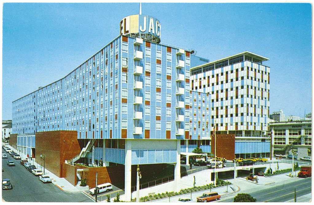 jack tar hotel  cathedral hill hotel  1960