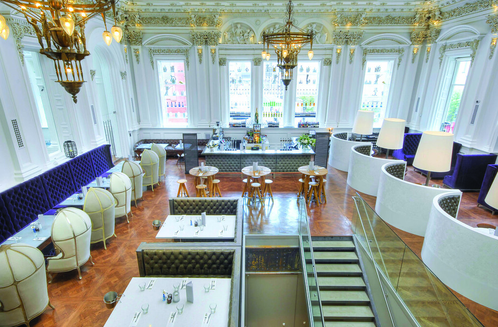 Restaurant bar design awards the corinthian club