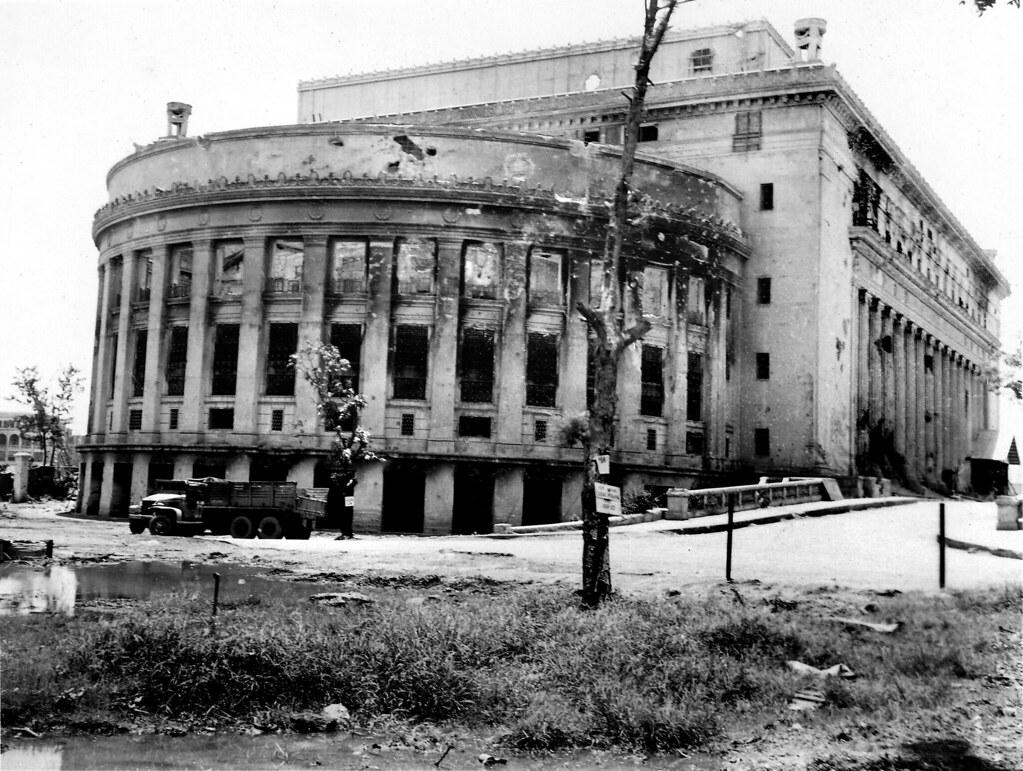Post Office Building, post WW2 Manila, Philippines   Flickr