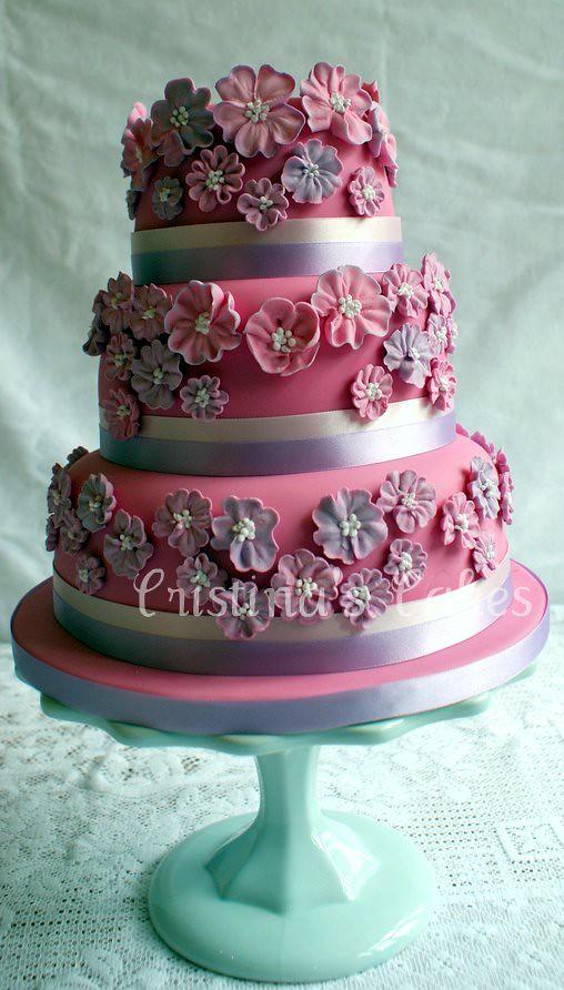 Peggy Porschen Wedding Cake This Was The Wedding Cake I