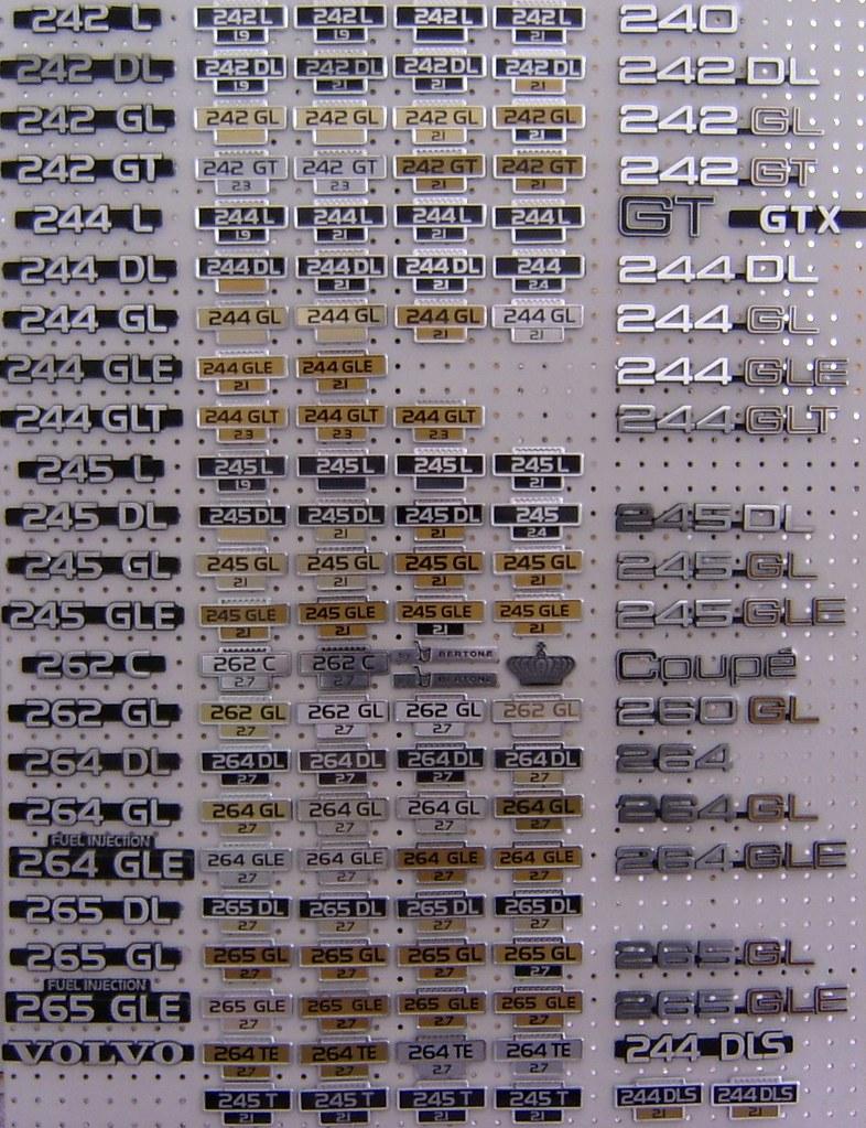 volvo 240 260 emblem, badge collection apr 12 2011   Flickr