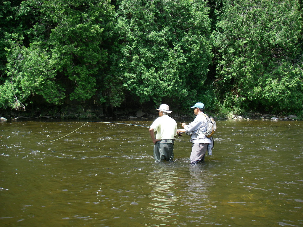 Ontario fly fishing lessons for Fly fishing classes