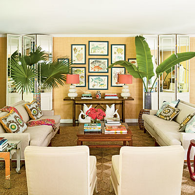 tropical living room furniture tropical vintage with a bohemian twist zesty nest flickr 12747