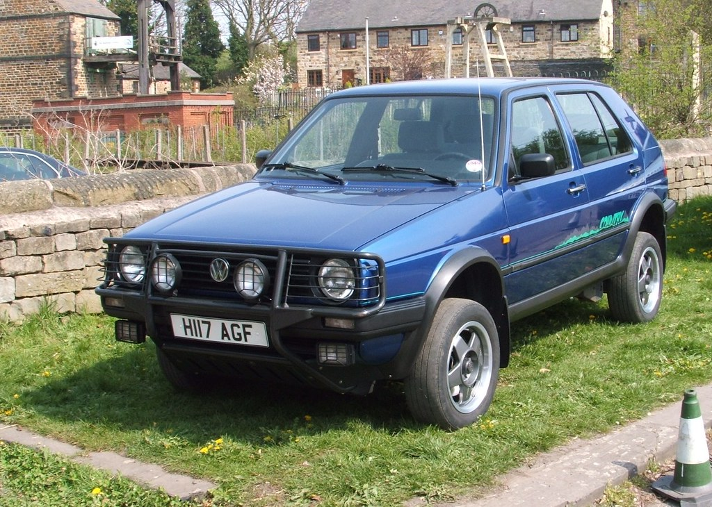 Vw Golf Mk2 Country 4x4 Picture Taken At Elsecar