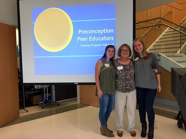 Engendering awareness and eradicating stigma: The Preconception Peer Educators