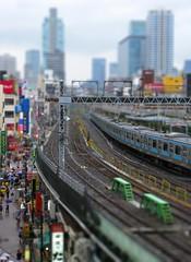 Near Ueno Station by knehcsg