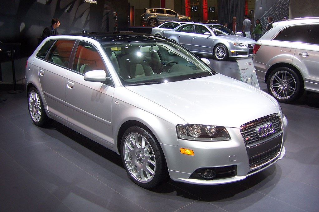 audi a3 sportback 2 0t s line typ 8p 2008 at the 2007 lo flickr. Black Bedroom Furniture Sets. Home Design Ideas