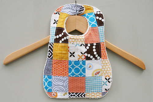 Patchwork Bib | by Fresh Lemons : Faith