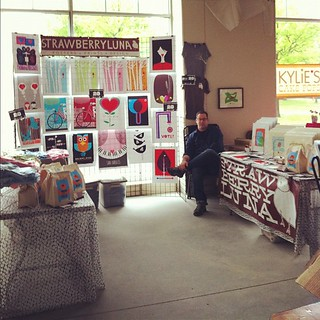 Ready to rock today @IMadeItMarket Jr. from 12-4 today only at Bakery Square! | by strawberryluna