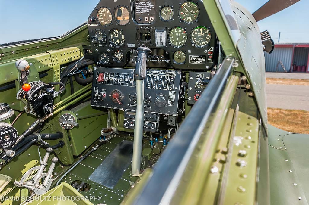 1944 Curtiss Wright P-40M-5 Warhawk (NL540TP) Cockpit | Flickr