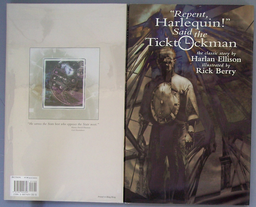 repent harlequin said the ticktockman Repent, harlequin said the ticktockman - ebook written by harlan ellison read this book using google play books app on your pc, android, ios devices download for offline reading, highlight, bookmark or take notes while you read repent, harlequin.