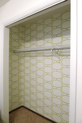 Closet Stenciled | by meredithheard