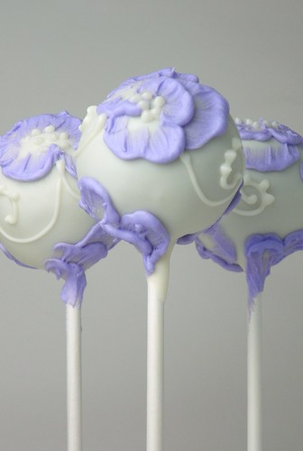 Wedding Cake Pops | by The Cake Poppery