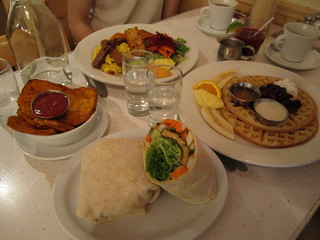 Aux Vivres vegan brunch | by veganbackpacker