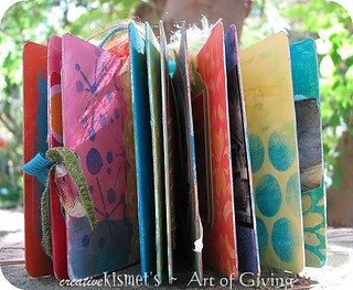 Art of Giving ~ altered book | by Regina Lord (creative kismet)