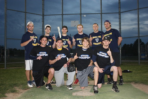 Spr12Softball Mens Sigma Chi Gold (1) | by EIU Campus Rec