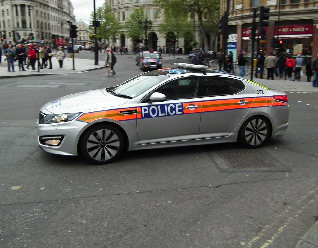 Skyfall Film Car 2012 Kia Optima 3 Crdi Police Car