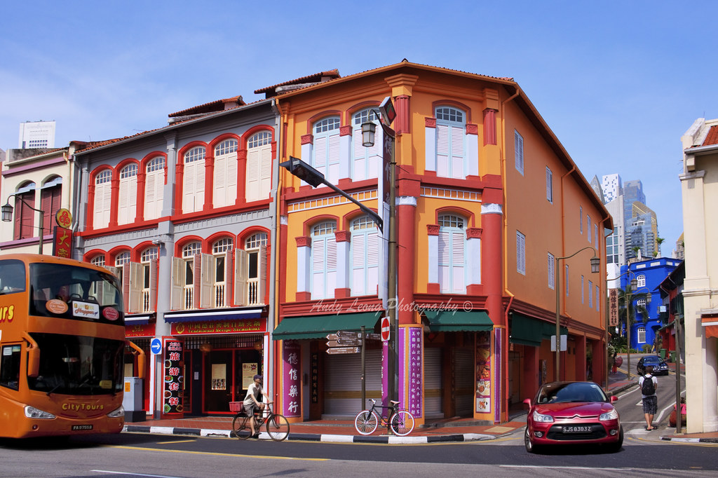 Shophouses Chinatown Singapore There Are Infinite Ways Flickr