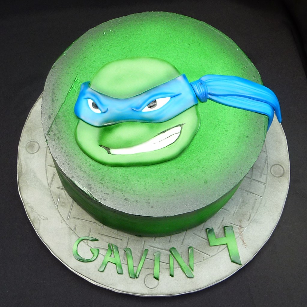 Ninja Turtle Cake Pan