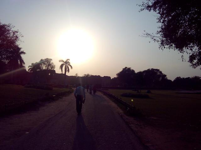 Inside Purana Qila, Delhi