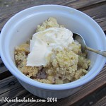 Stachelbeer Crumble