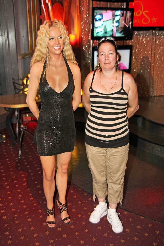 Britney Spears At Madame Tussaud S Wax Museum In Las Vegas