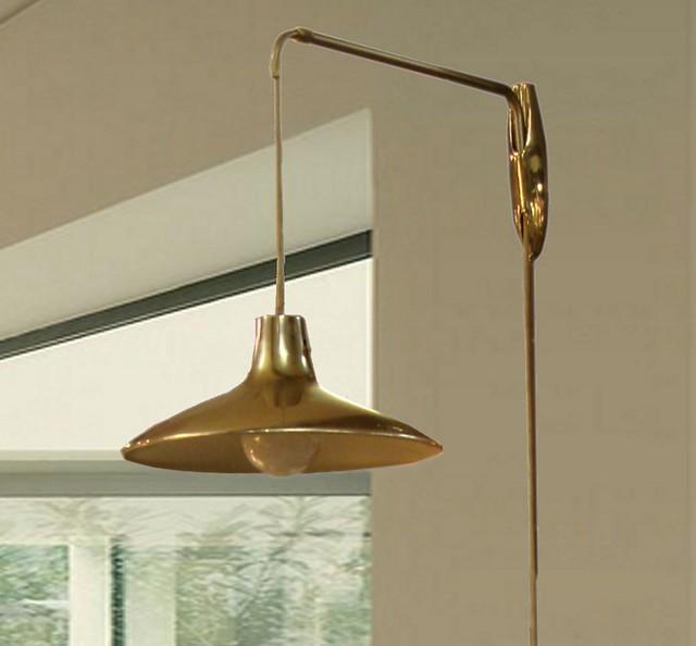vintage mid century laurel hanging pendant lamp flickr photo. Black Bedroom Furniture Sets. Home Design Ideas