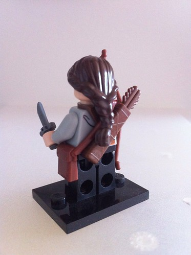 LEGO Katniss Everdeen (reverse) | by theCadwell