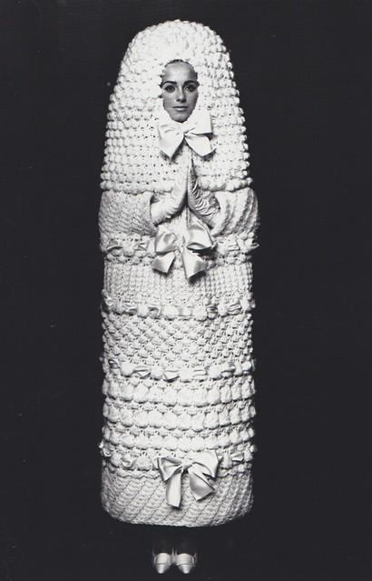 Yves saint laurent wedding dress 1965 66 flickr photo for Yves saint laurent wedding dress