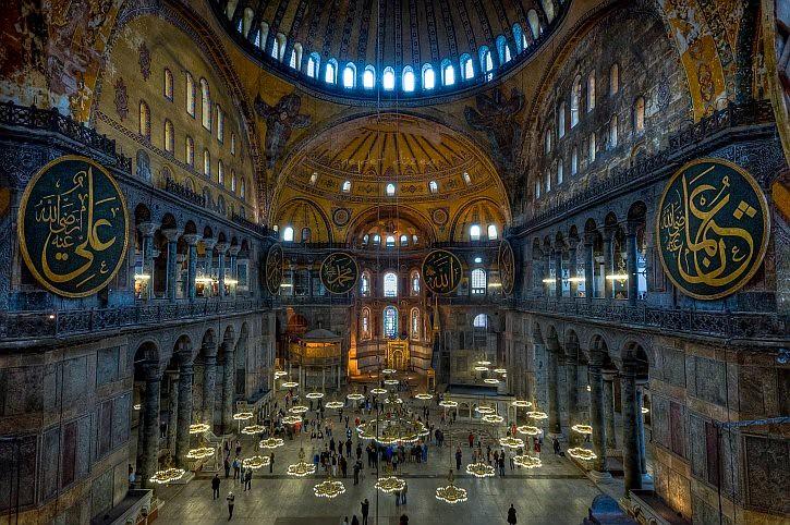 The Ayasofya (Hagia Sophia) Museum, Istanbul  Thanks for ...