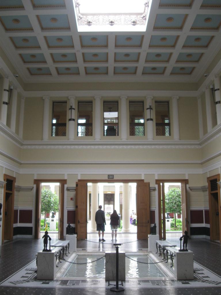 Atrium At The Getty Villa Atrium Main Public Room Of