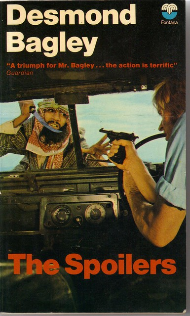 Cover of the 1973 Fontana paperback edition of The Spoilers