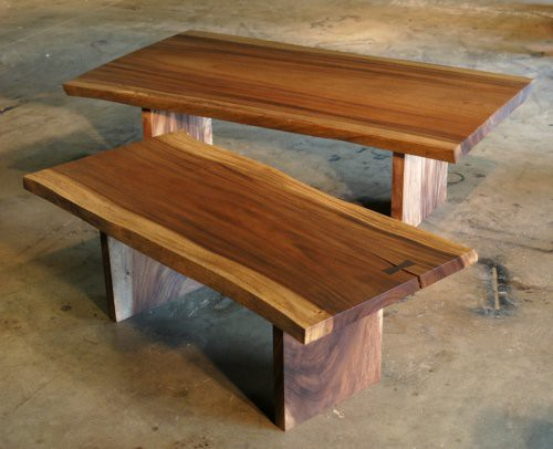 Rustic Wood Slab Coffee Table Wood Slab Coffee Table For S Flickr