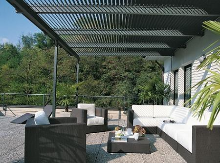 Aluminio pergola danieleralte flickr for Carpas jardin leroy merlin