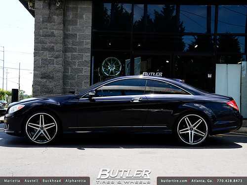 Mercedes Cl Class With 22in Lexani R Five Wheels Flickr
