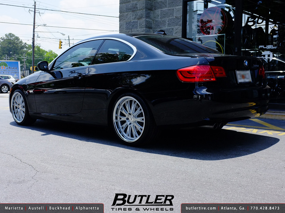 Bmw 328i With 19in Tsw Monaco Wheels Additional Picture