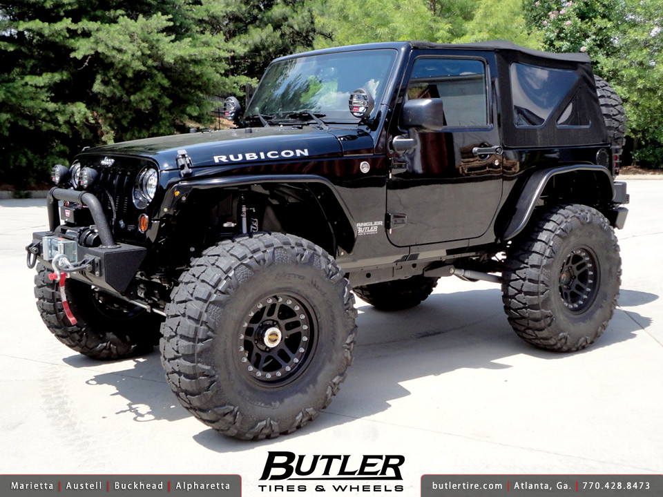 Jeep Wrangler Rubicon With 17in Atx 195 Wheels 40in Nitto