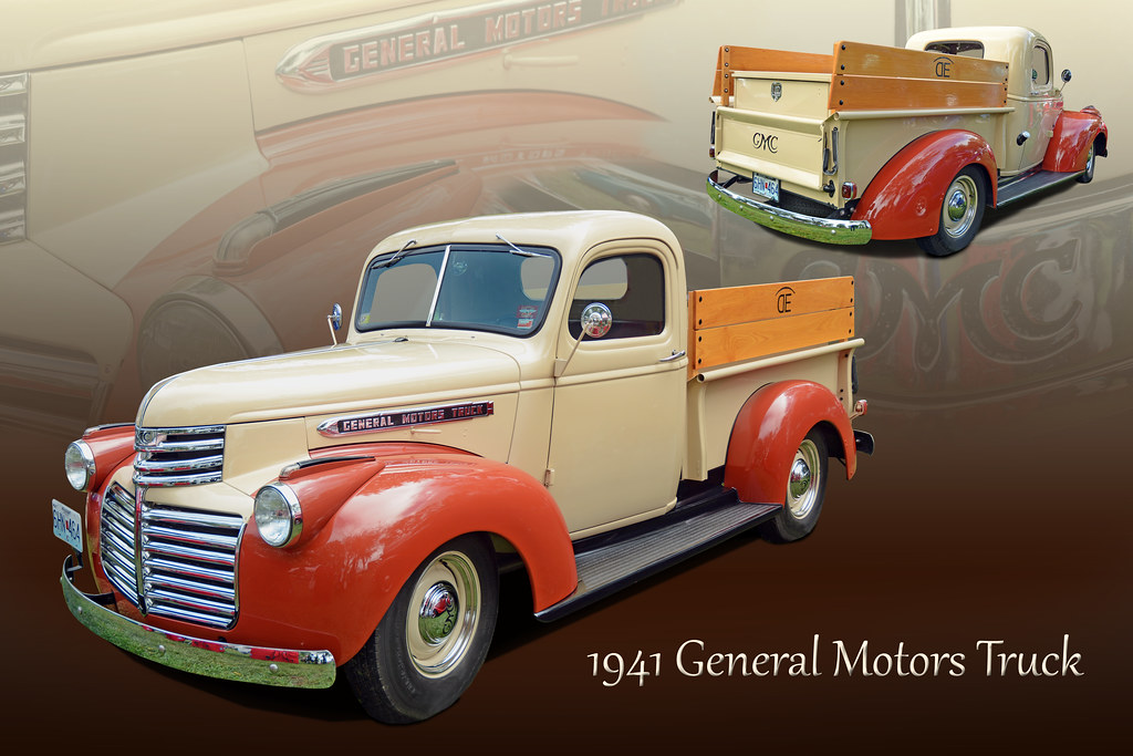 1941 General Motors Truck Pictures To Pin On Pinterest