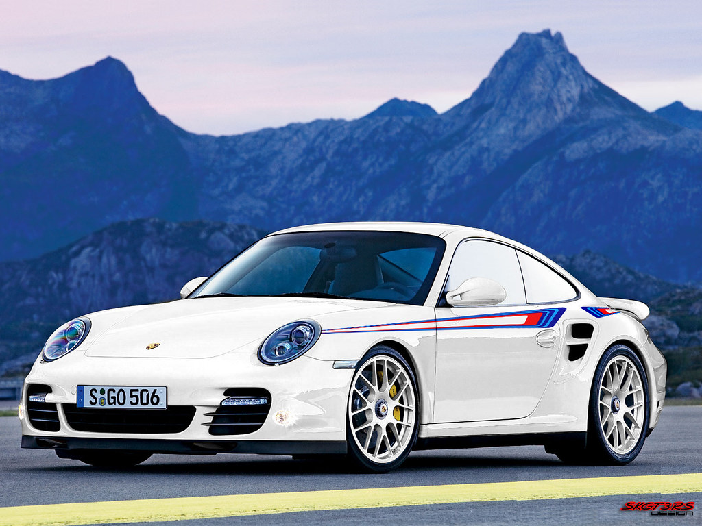 2012 Porsche 911 997 Turbo S Quot Martini Racing Edition