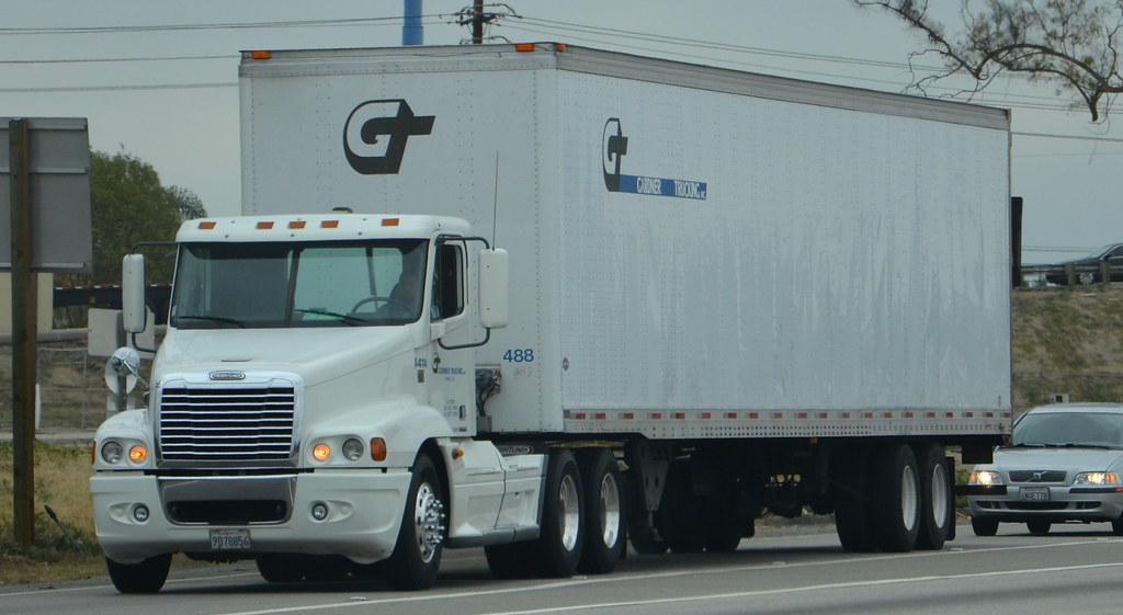 Gardner trucking inc gt freightliner big rig truck 1 for Gardner inc