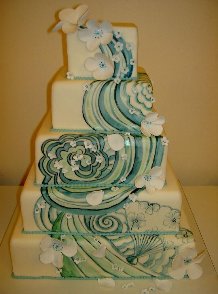 Tattoo Inspired Wedding Cakes