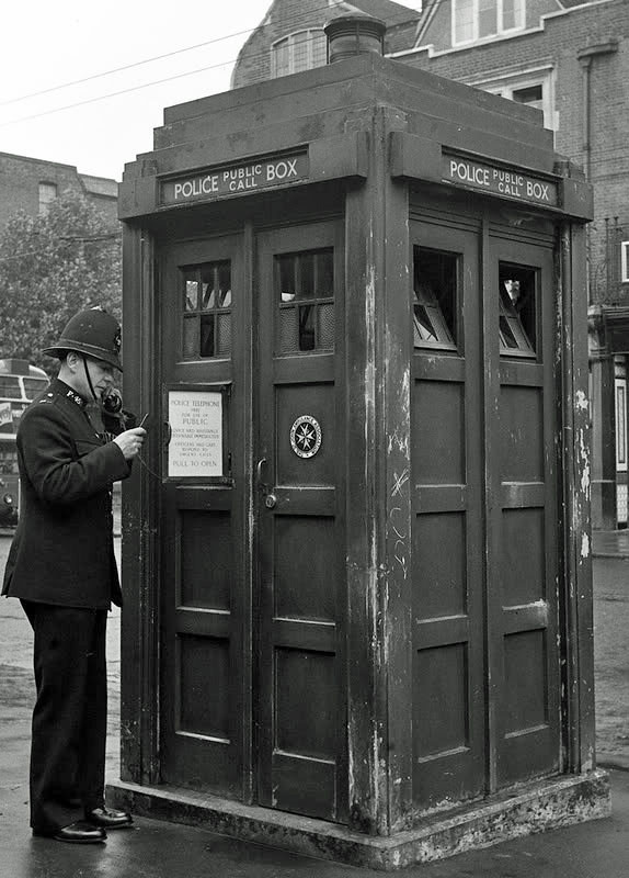 Hammersmith Police Box This Is A Metropolitan Police Box
