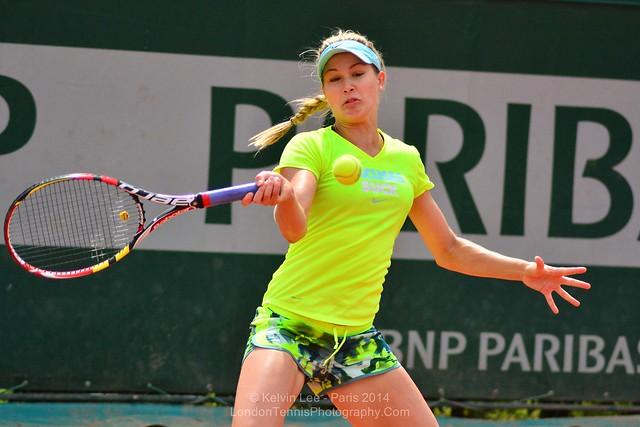 Eugenie Bouchard - French Open, Roland Garros 2014-23.jpg