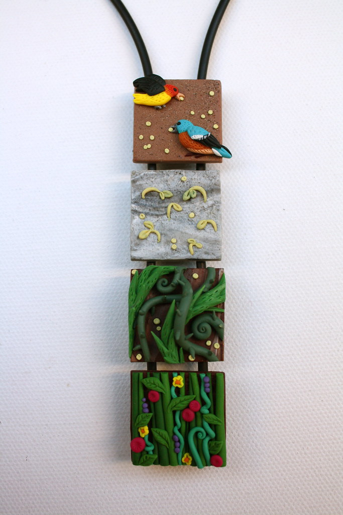 parable of the sower craft ideas june 13 polymer clay duck decoy cord each square is 1 7868