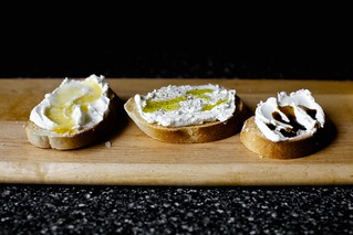 ricotta crostini, three simple ways | by smitten kitchen