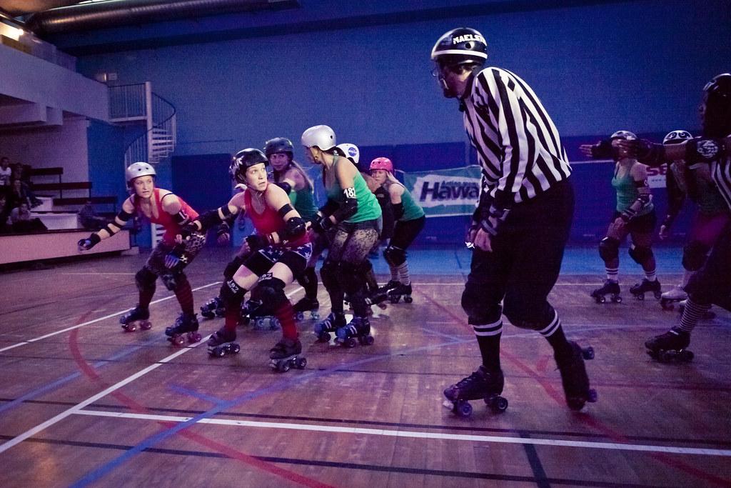 Onwheelz - Roller Derby Show (08) - 11Jun11, Paris (France ...
