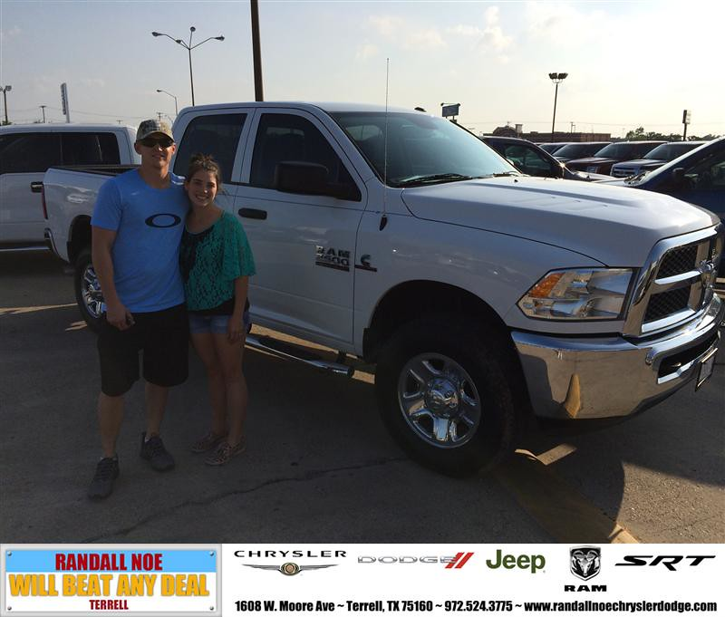 Congratulations To Scott Flick On Your Ram 2500 Purchase