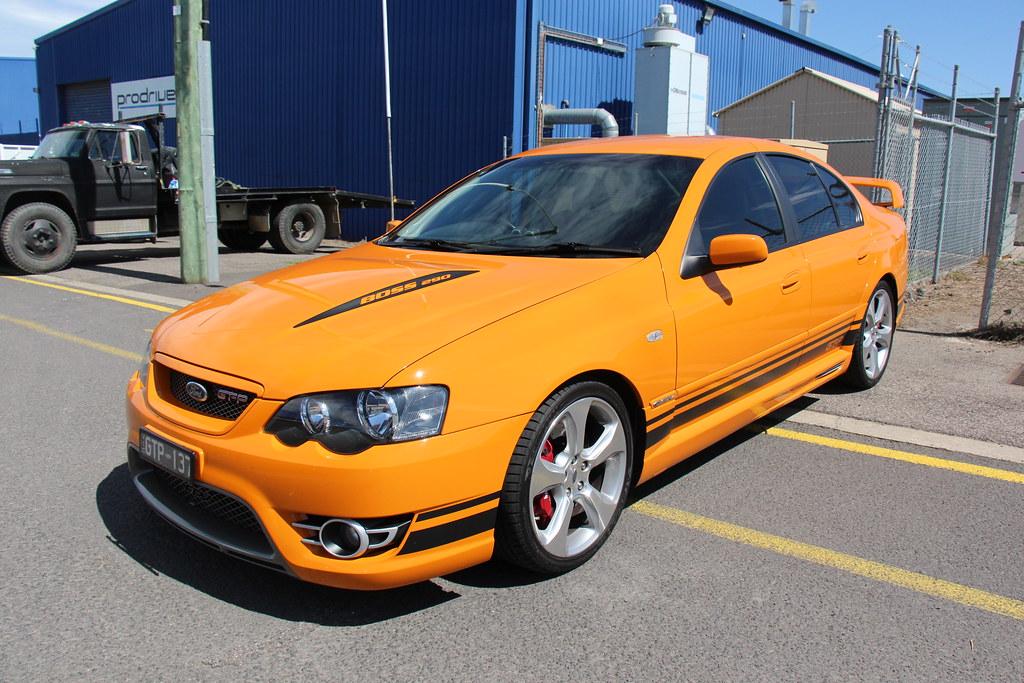 2007 Ford Falcon Bf Series Ii Gt P Sedan Octane Orange
