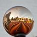 Ball reflections,Starlight Parade Portland.